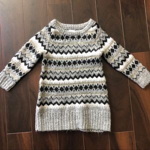 Cat & Jack Baby Girls Knitted Sweater Dress